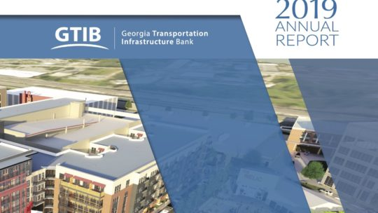 2019 Georgia Transportation Infrastructure Bank Annual Report