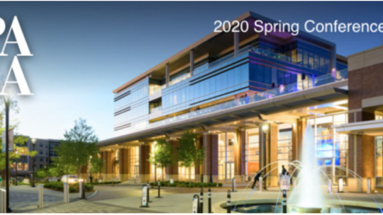 GPA Spring 2020 Conference – Cancelled